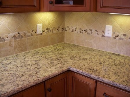 Ceramic Tile Backsplash | DAC Home Renovations   Other Home Ideas   Custom  Designed Back Splash