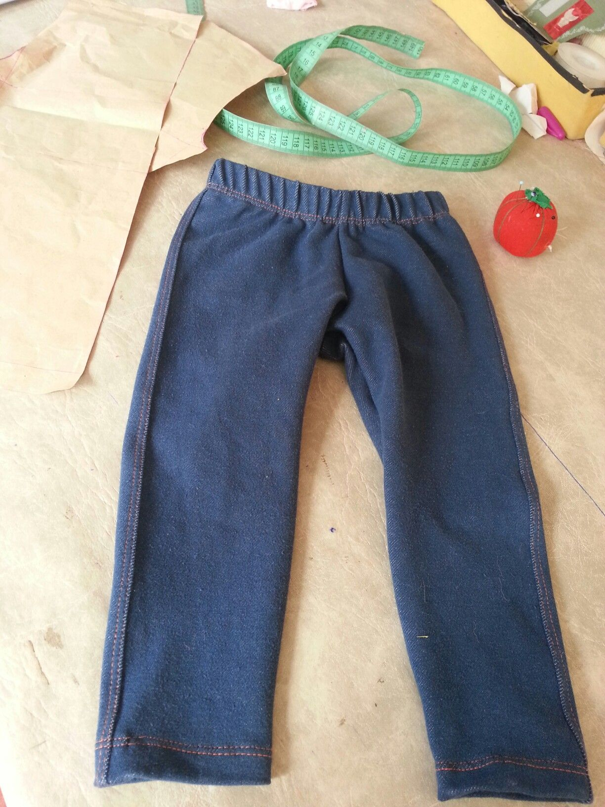 Niños talle 1 calza simil jeans children