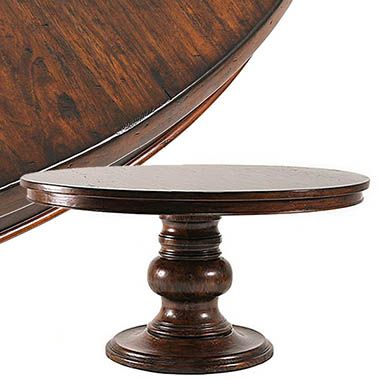Tuscan Dining Room Tables Extra Long Round
