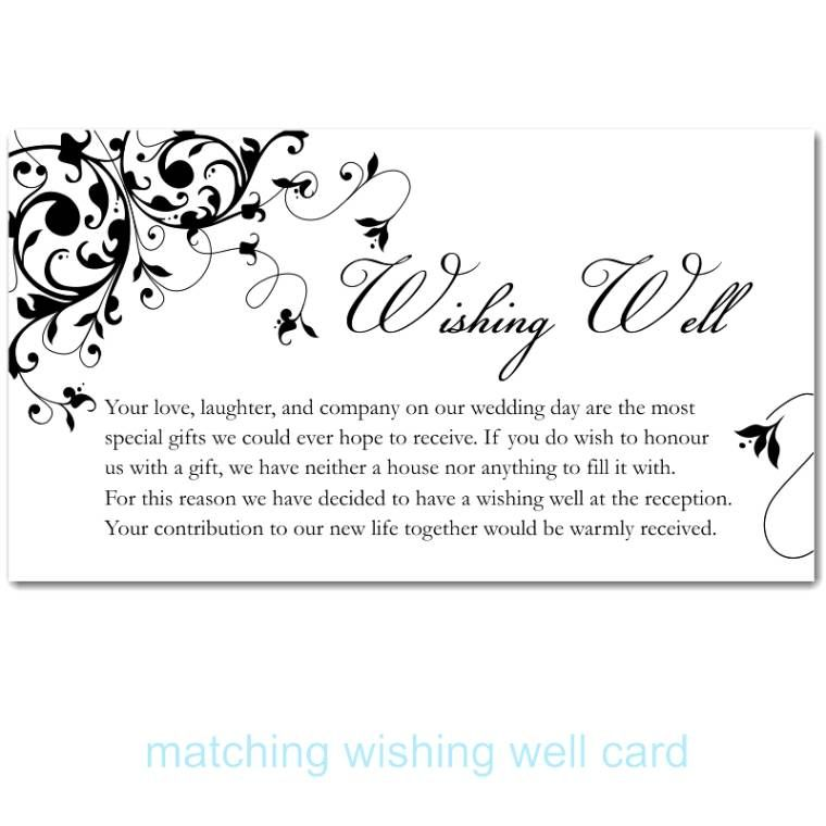 Wording For Wedding Invitations Asking Money Unique Gallery