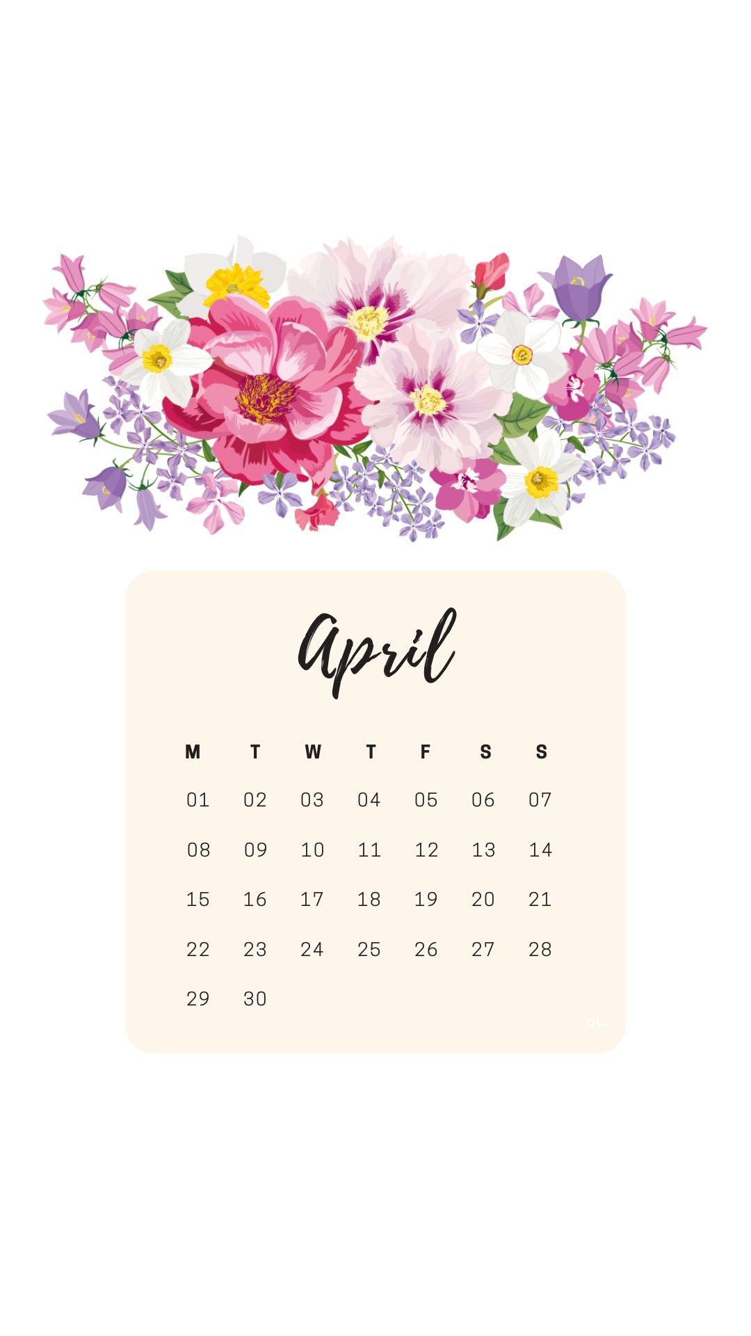April 2019 Calendar Ipad Wallpaper Flower Desktop Wallpaper Ipad Wallpaper Calendar Wallpaper