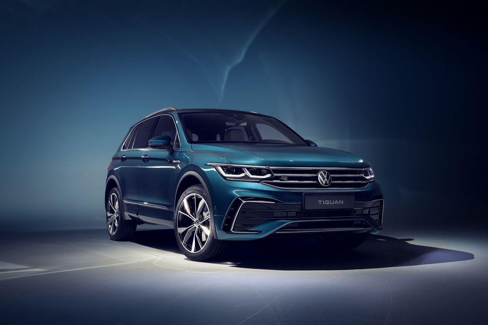 2022 Volkswagen Tiguan Has A More Appealing New Front End Tiguan R Volkswagen Tiguan R Line