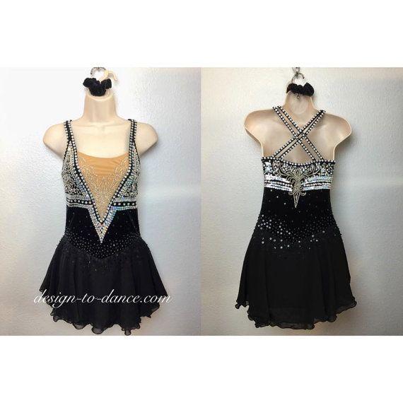 Custom Figure Skating Dress/ Rhythmic Gymnastics Dress  #dress #skatingdress (#072) -Custom Order $179.00