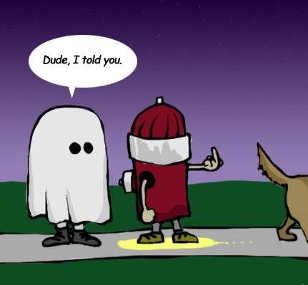 dude i told you halloween pictures halloween humor halloween jokes halloween cartoons - Halloween Humor Jokes
