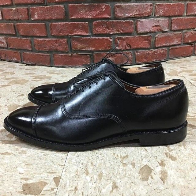 2227e31f67a7 ALLEN EDMONDS PARK AVENUE IN BLACK | Leather accessory | Dress shoes ...