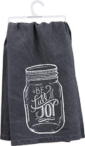 Primitves By Kathy Tea Towel - Full of Joy Primitives By Kathy http://www.amazon.com/dp/B00U0H34GU/ref=cm_sw_r_pi_dp_WUgMvb18EMYMH