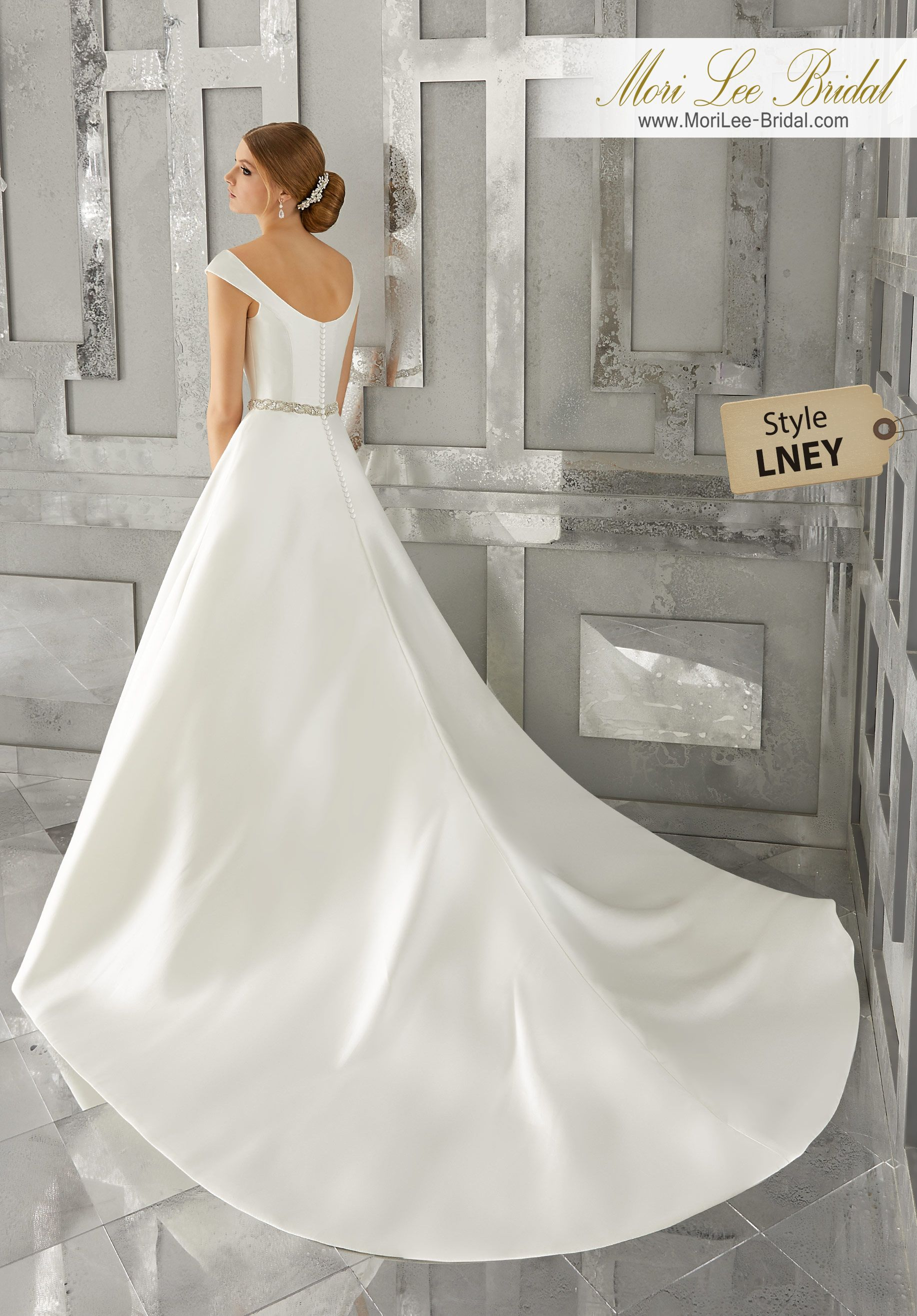 Pearl belt for wedding dress  Style LNEY Marquesa Wedding Dress Classic and Chic This Marcella