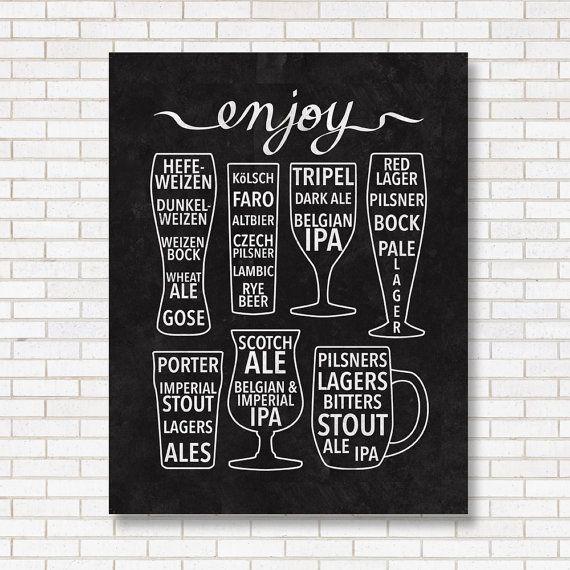 Enjoy Beer Print