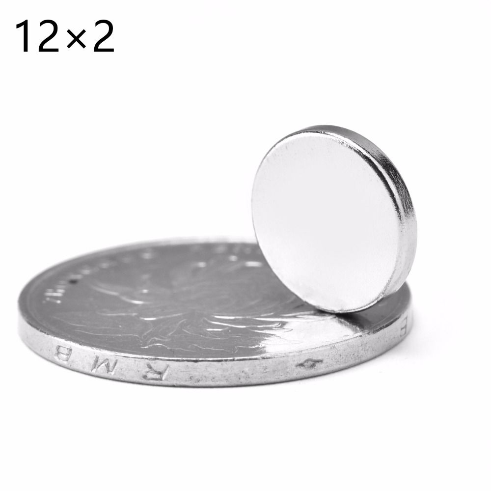 200pcs 12mm X 2mm 12x2 Super Strong Round Disc Rare Earth Neodymium Magnet 12 2 New Art Craft Connection Free Sh Neodymium Magnets Ndfeb Magnet Metal Buildings