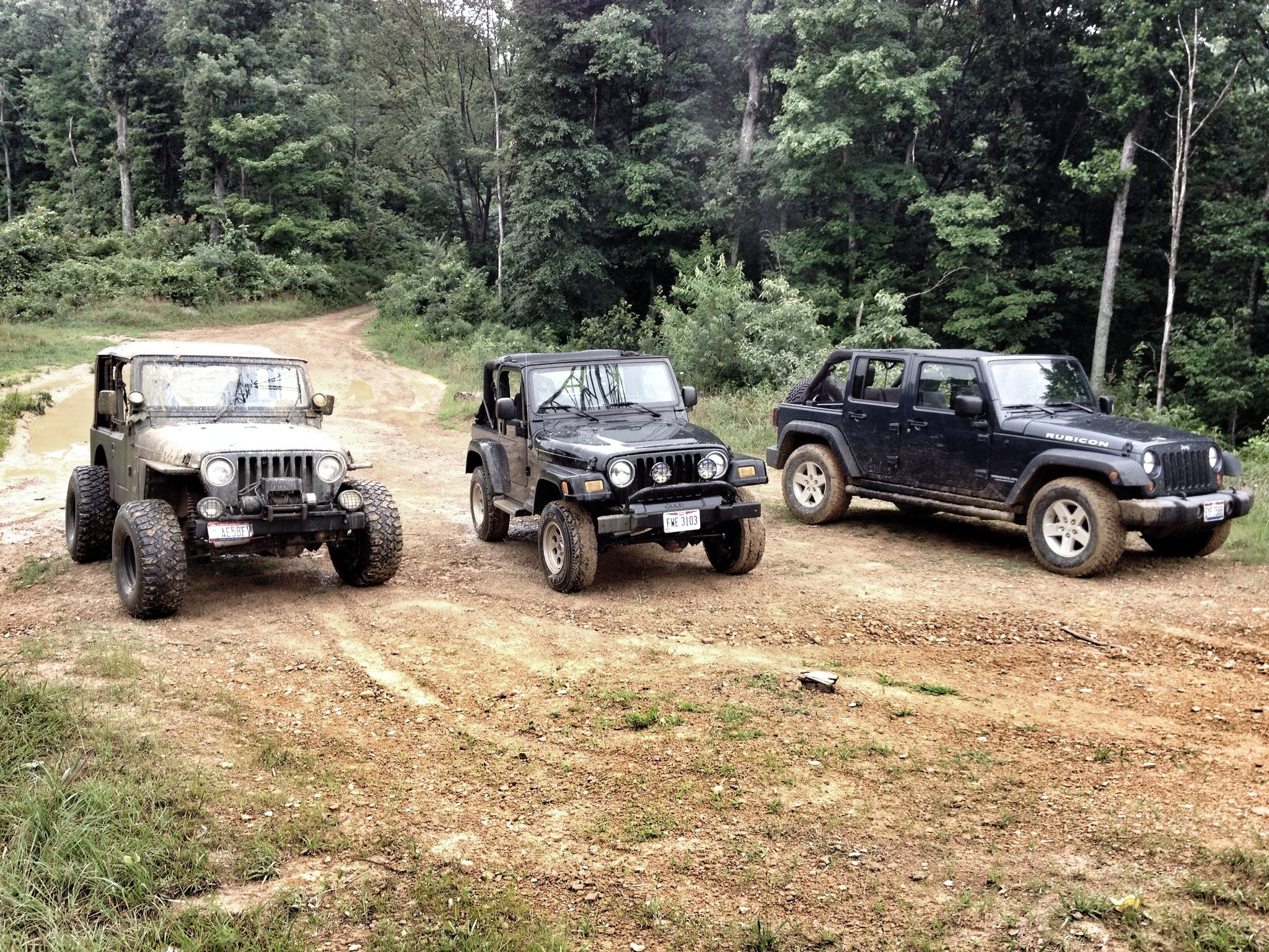 Jeep Wranglers On The Trails In Southern Ohio With Images