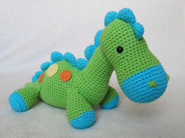 Dinosaurier Dino Häkelanleitung | Amigurumi patterns, Sewing ...