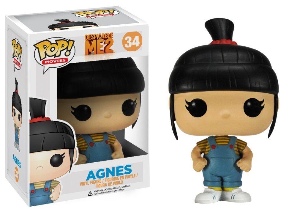 Amazon.com: Funko POP Movies Despicable Me: Agnes Vinyl Figure: Funko Pop! Movies:: Toys & Games