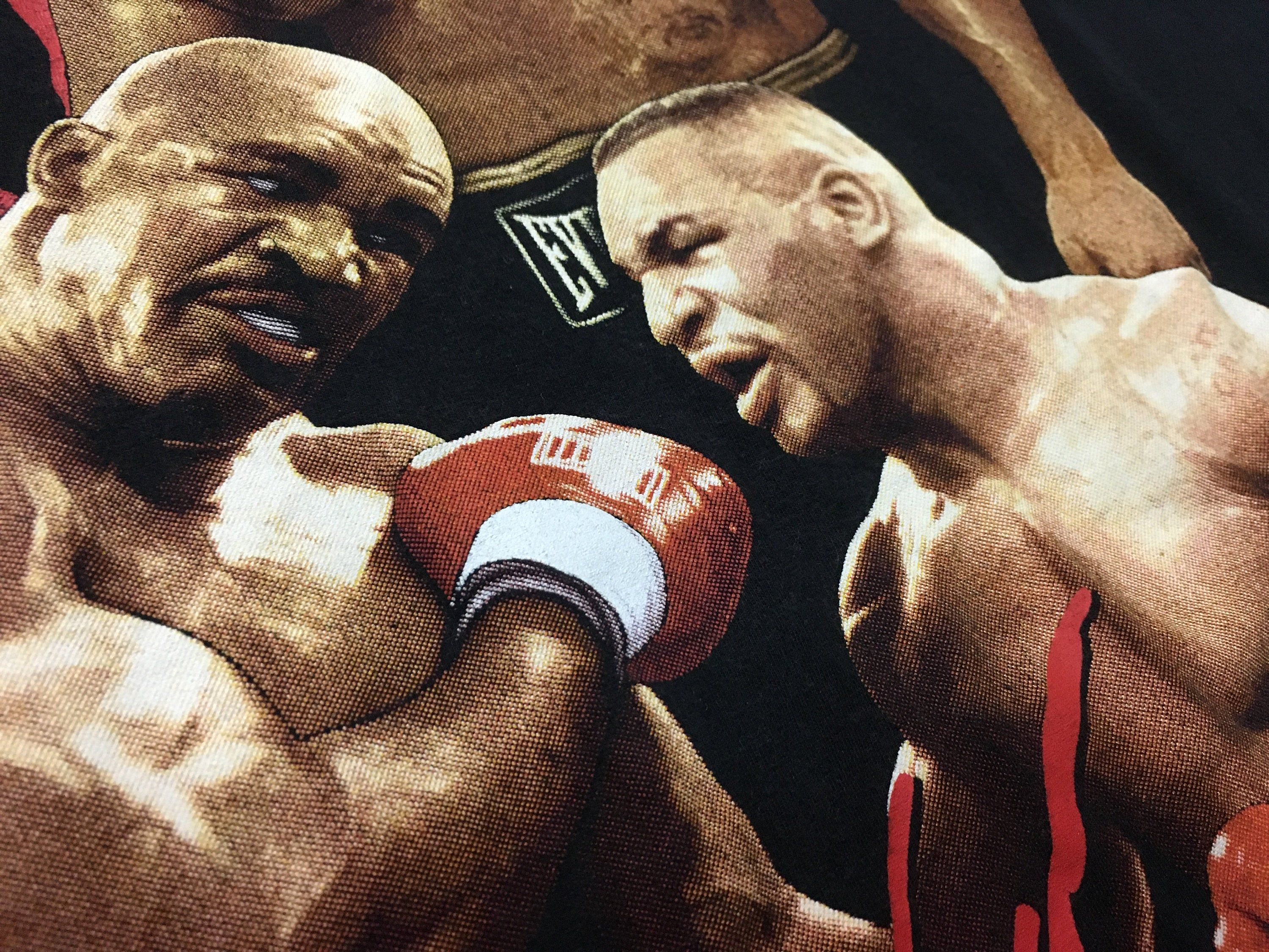 Vintage Mike Tyson Shirt Iron Mike Vs Evander Holyfield Black Size Xl Good Condition 90s Boxing Shirt By Alivevintageshop On Etsy