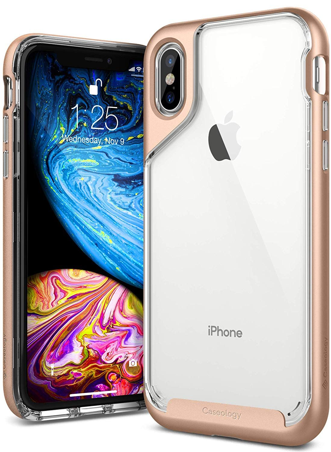Caseology for iphone xs case skyfall series clear slim
