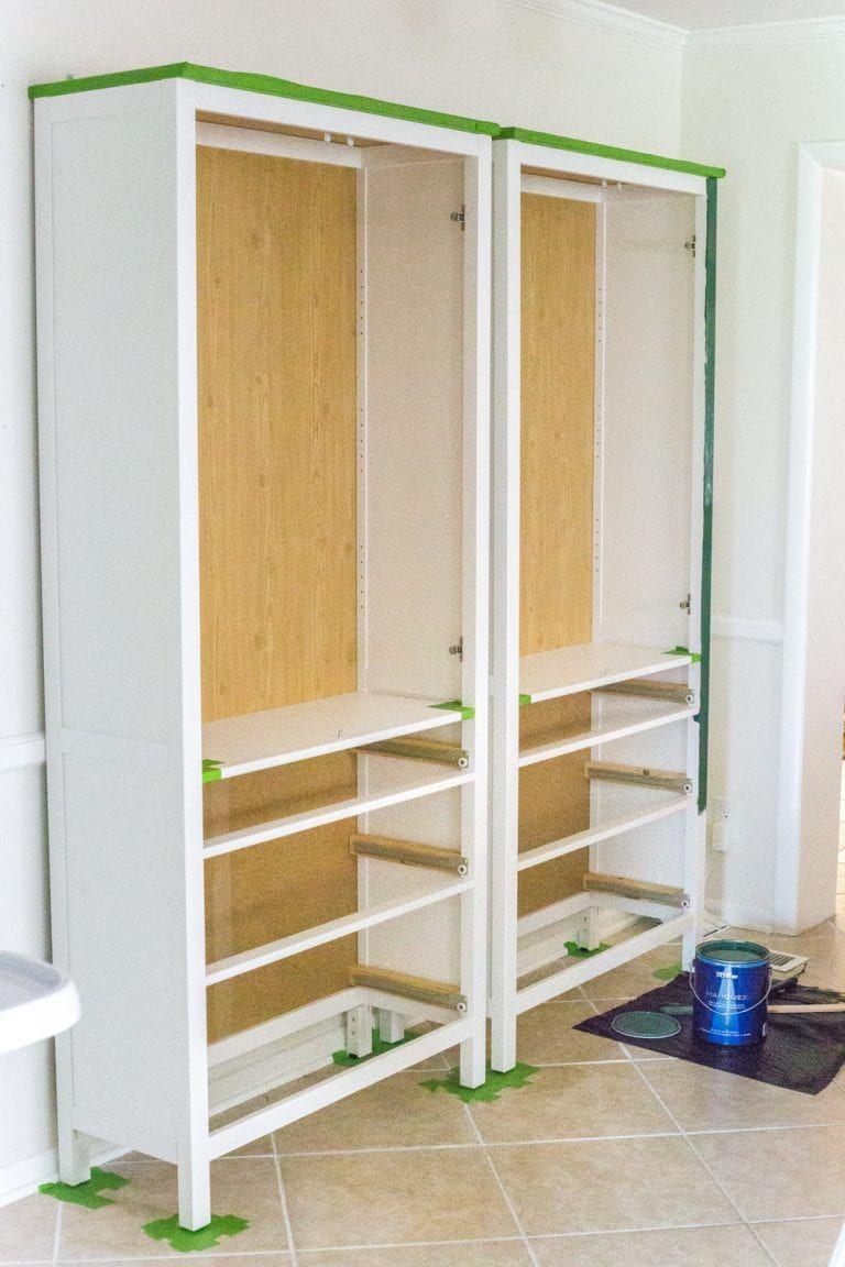Diy ikea hemnes pantry ikea furniture laminate