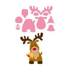 Marianne Design Cutting Dies - Eline's Reindeer COL1369