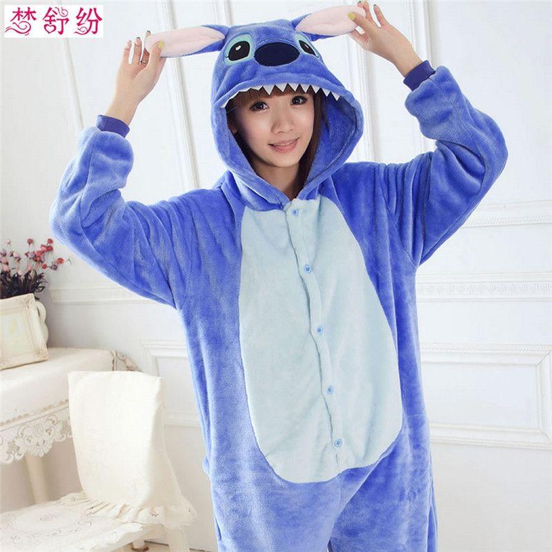 932093e3da Cheap Otoño e Invierno de Halloween Conjuntos de Pijamas de Dibujos  Animados Mujeres Ropa de Dormir