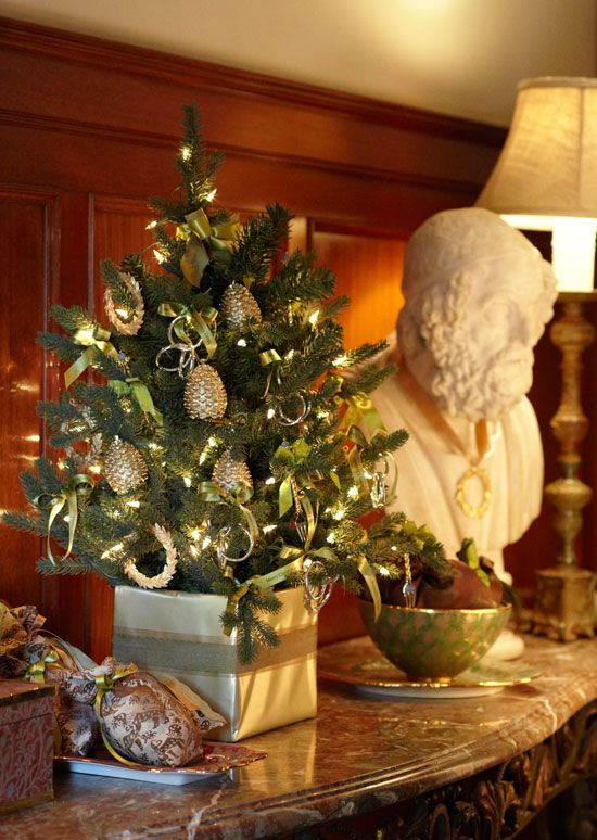 Decorating Christmas Trees - Traditional Home® Christmas O - how to decorate a small christmas tree
