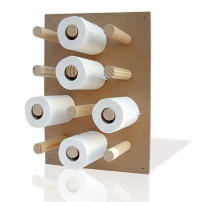 d rouleurs de papier toilette design d co wc c t maison. Black Bedroom Furniture Sets. Home Design Ideas