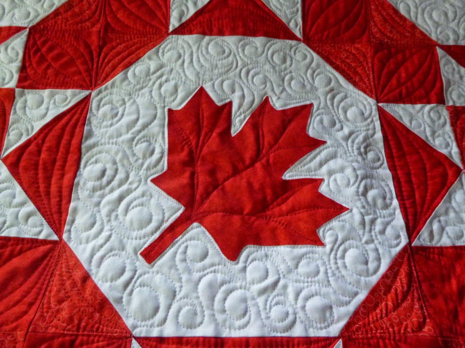 maple leaf quilt - Google Search | O Canada | Pinterest | Barn ... : canada quilt - Adamdwight.com