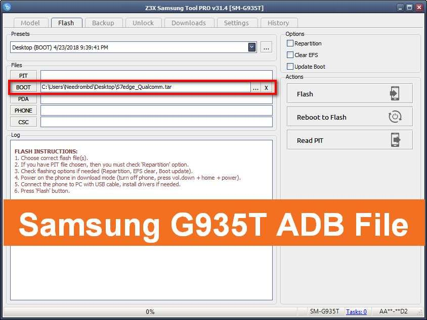 Samsung G935T ADB File To Remove FRP | Cosas que comprar | Compras