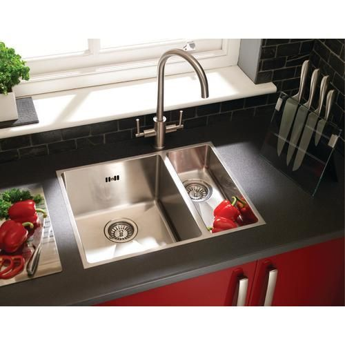 1 5 Flush Inset Sink Wickes Co Uk Inset Sink Kitchen Sink Design Sink