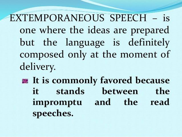 Perfect Speech Communication