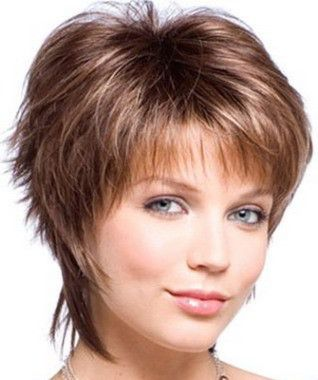 Modern Short Hairstyles For Round Faces Haircuts Pinterest