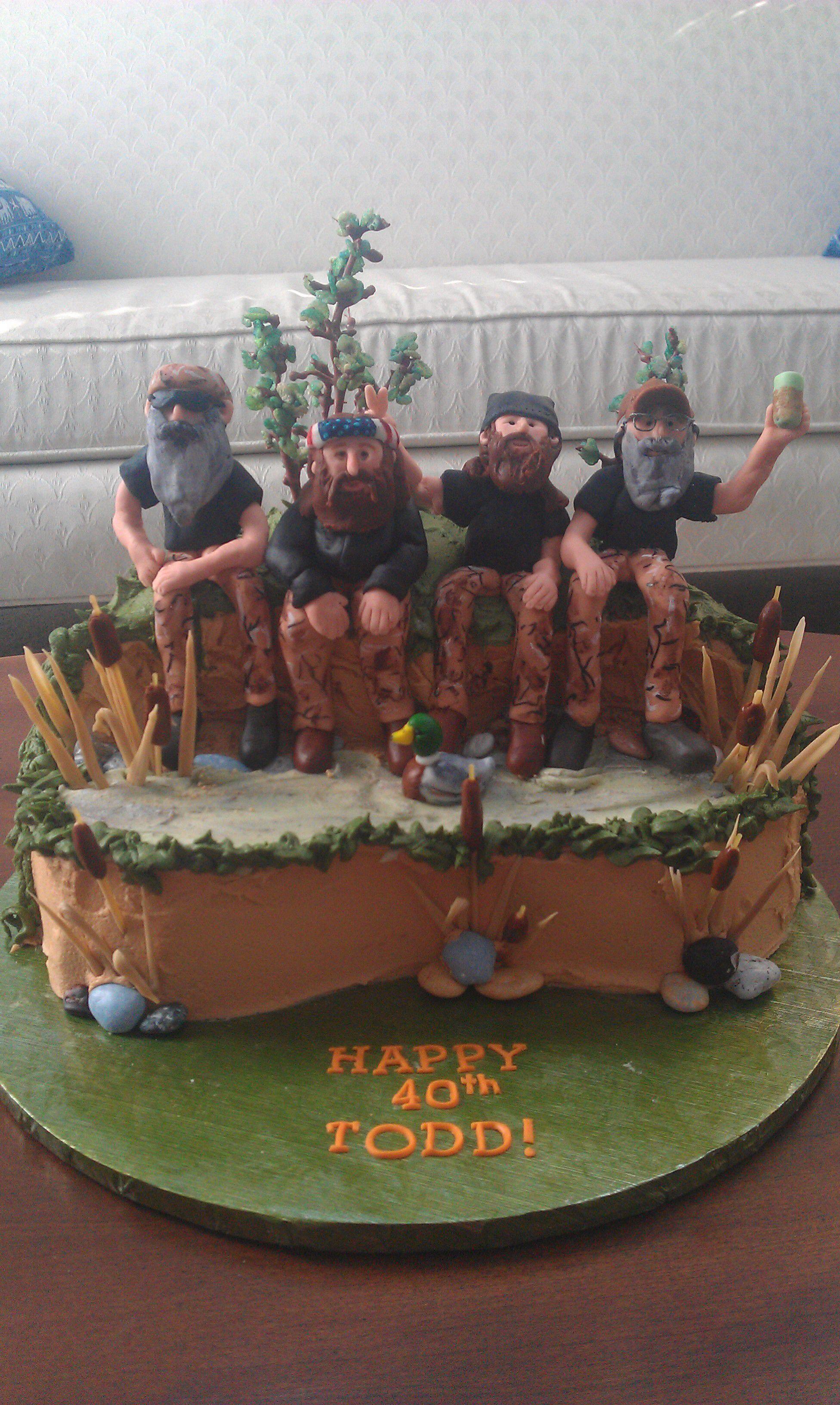 Duck Dynasty birthday cake My cakes Pinterest Duck dynasty