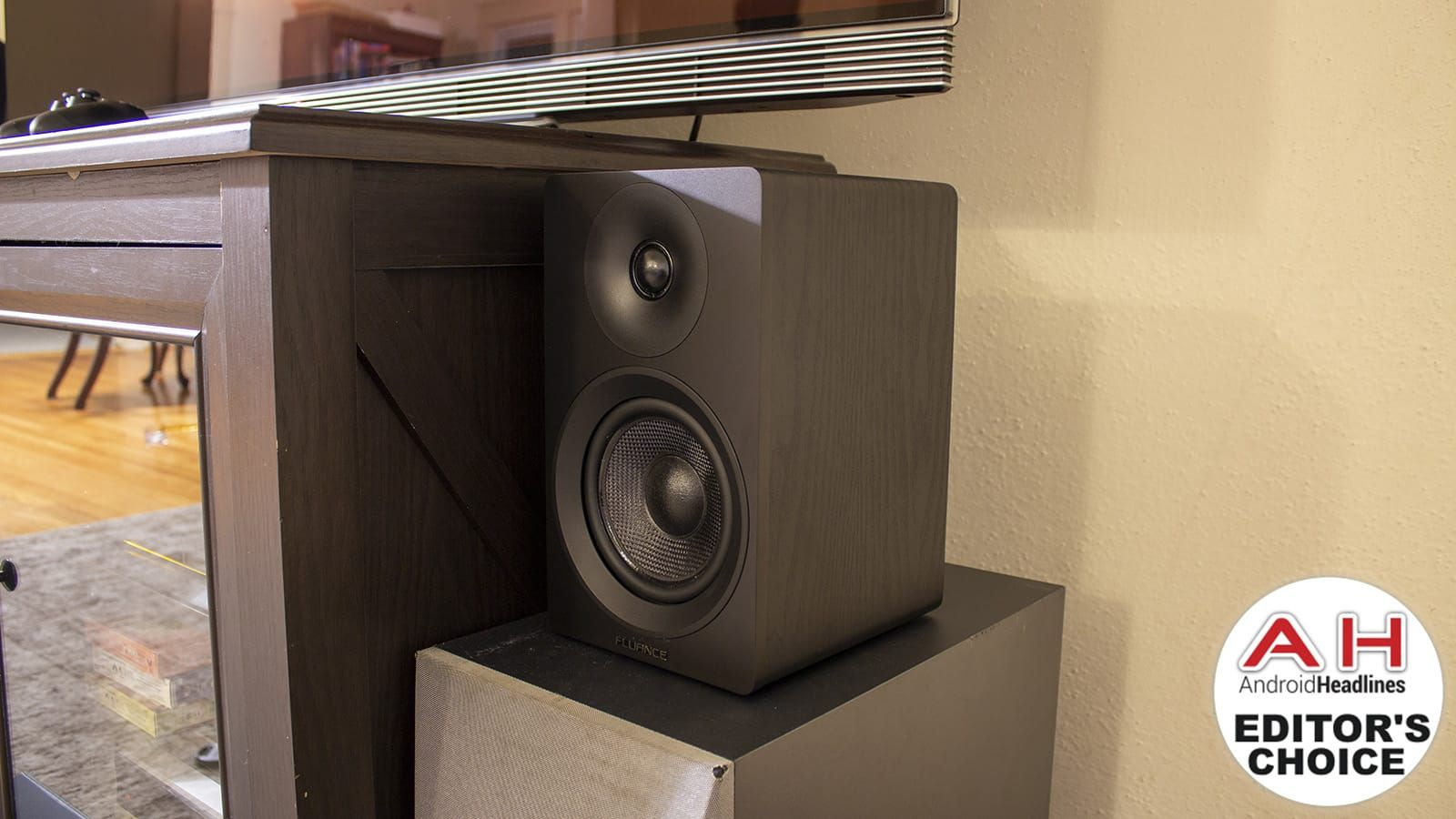 ICYMI Fluance Ai40 Powered Bookshelf Speakers Review Bluetooth Audio Can Actually Be Good