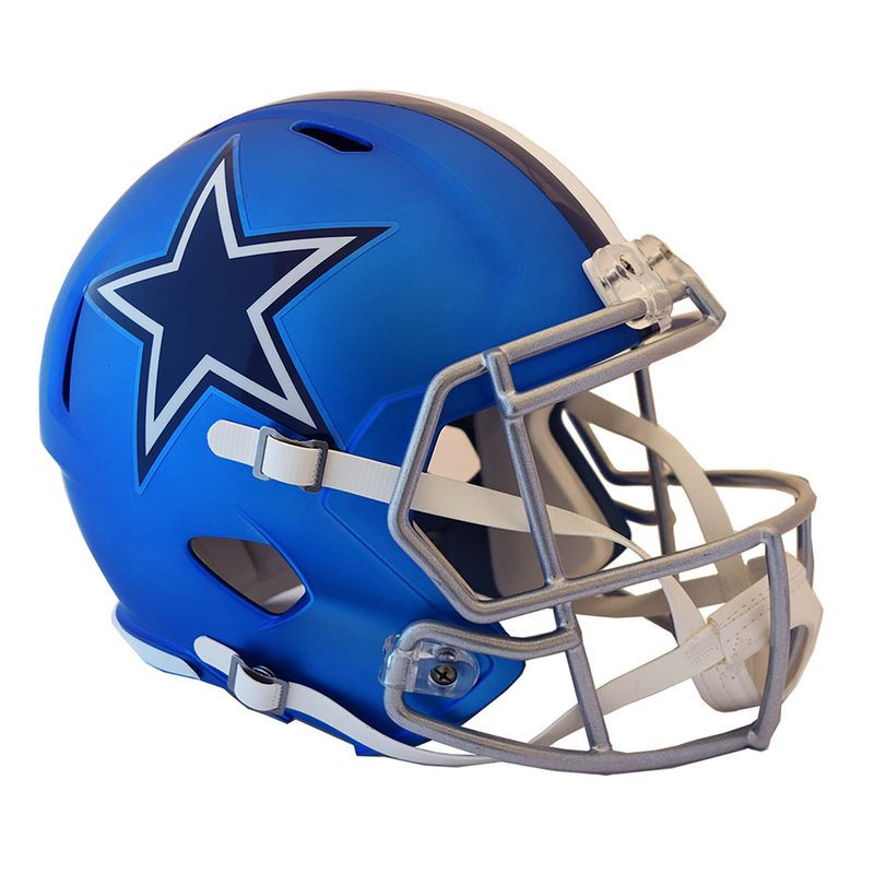 Riddell Dallas Cowboys Officially Licensed Speed Full Size Replica Football Helmet