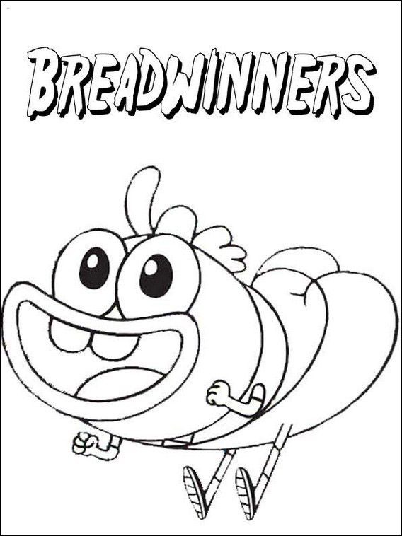 Breadwinners Coloring Pages 11 For Kids