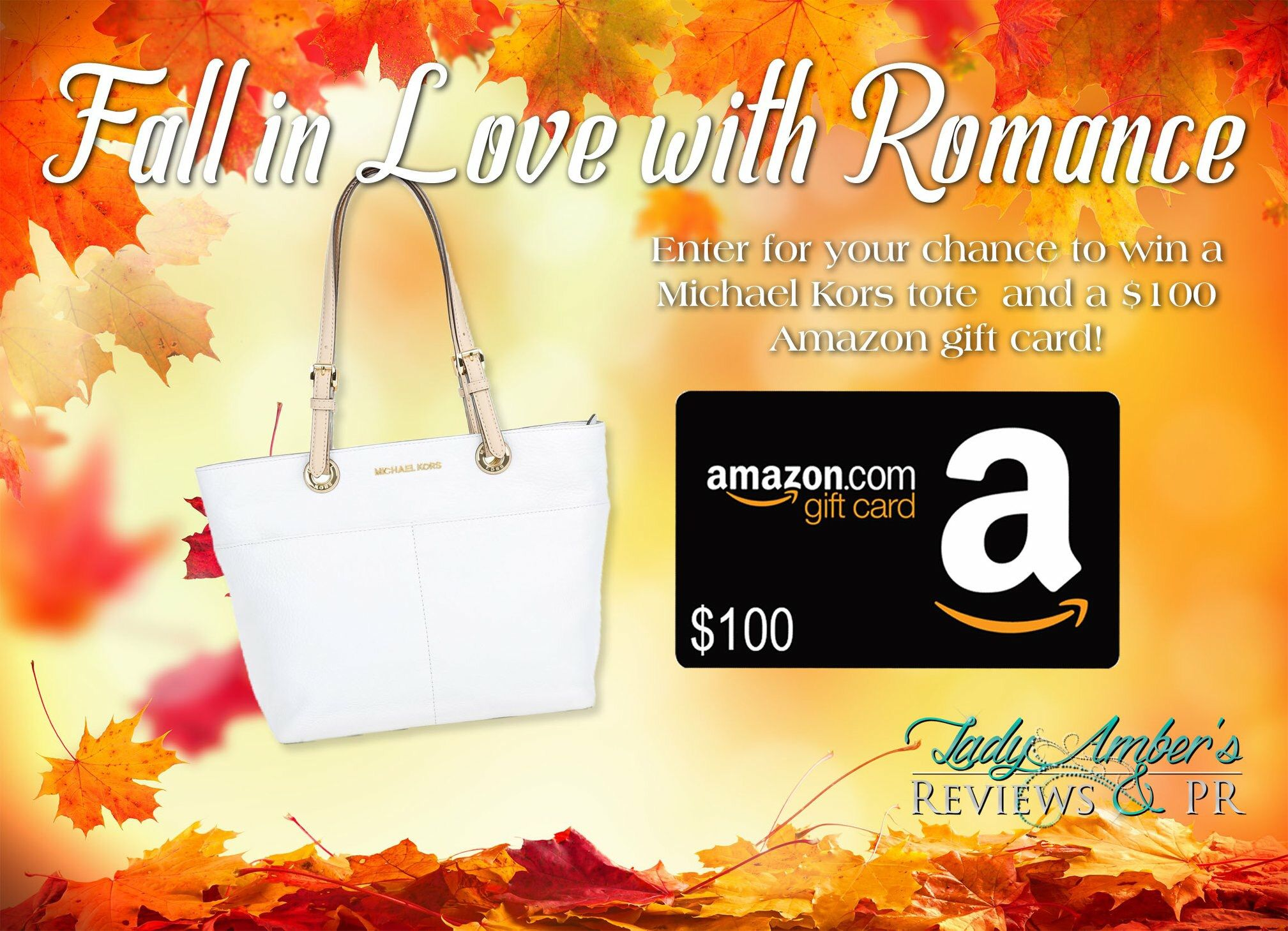 Fall in love with romance giveaway romance michael kors
