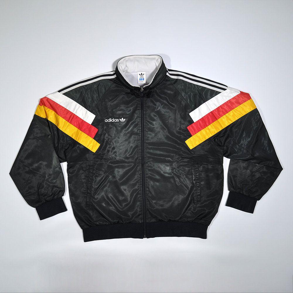 Rare Vintage 80s 90s Adidas Germany Flag Colorway Multi Color Retro Track Jacket Adidas Fashion Old School Streetwear Adidas Deutschland Streetwear Jackets Germany Flag Adidas [ 1000 x 1000 Pixel ]