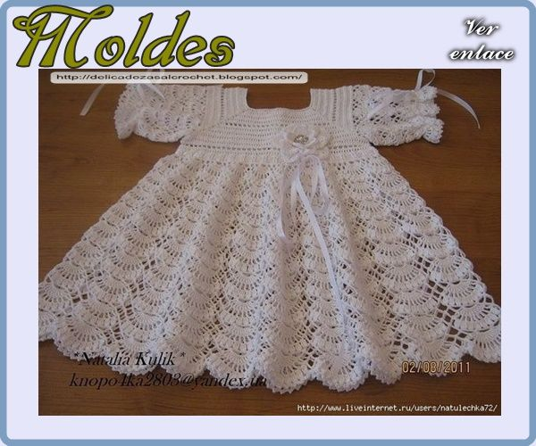 Delicadezas en crochet Gabriela: Patrones crochet bebé | crocheted ...