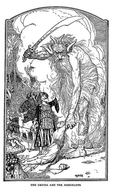 Henry Justice Ford - The Arabian nights entertainments selected and edited by Andrew Lang, 1898 (illustration 7) by Aeron Alfrey, via Flickr