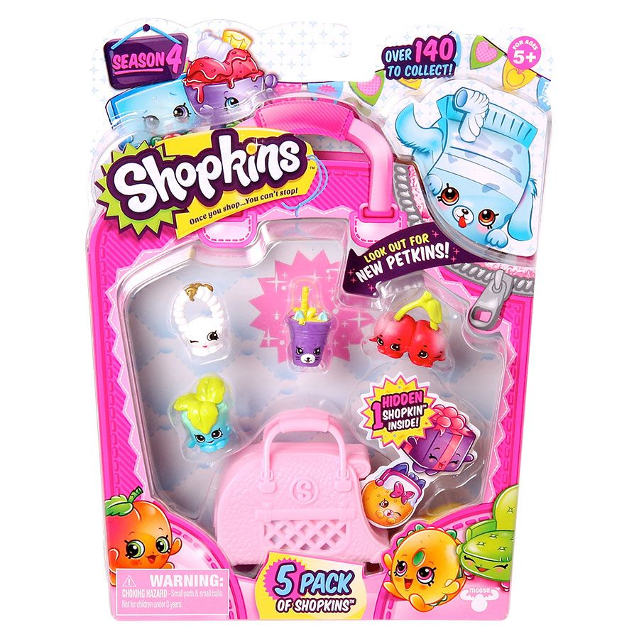 Shopkins Season 4 5 Pack Assorted Toys R Us
