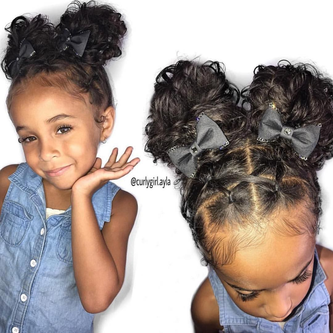 Hairstyles For Girls Kids Curly Hair In 2020 Baby Girl Hairstyles Kids Curly Hairstyles Baby Hairstyles