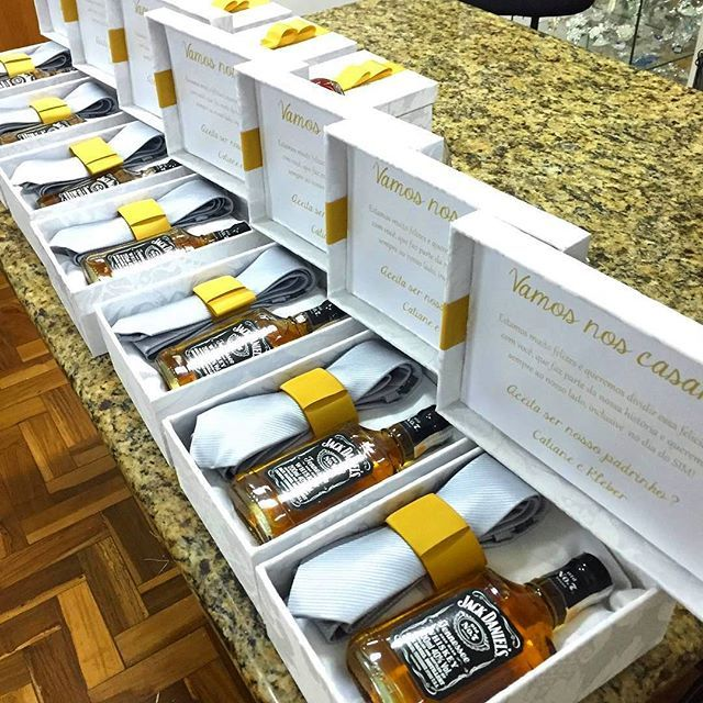 Groomsmen Idea Nothing Says Thank You For Been Part Of Our Special Day Like A Beautifully Packaged Gift