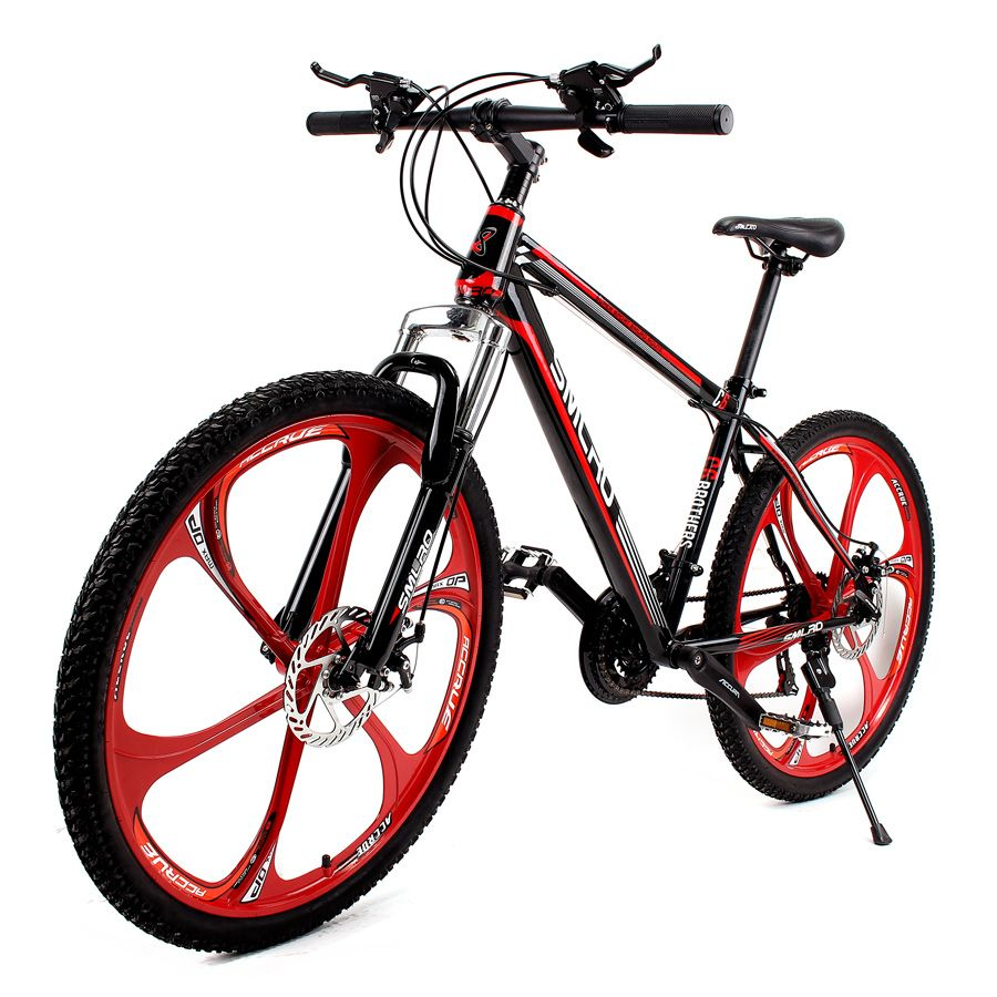 26 X Bicicleta de montaña de 17 pulgadas marco de acero de alto ...