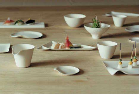 Japanese tableware.