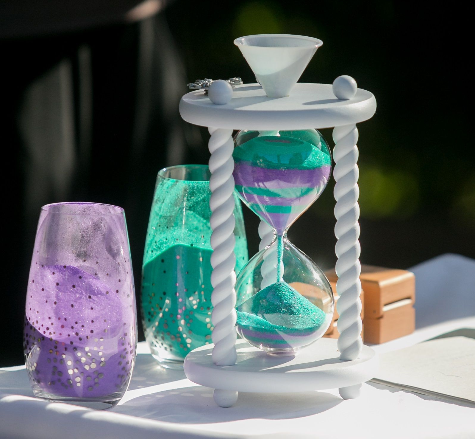 Love The Sand Colors Heirloom Hourglass Wedding Unity Sand Ceremony Sand Ceremony Wedding Sand Unity Sand Ceremony Wedding