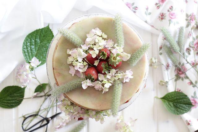 Vanilla fraisier...