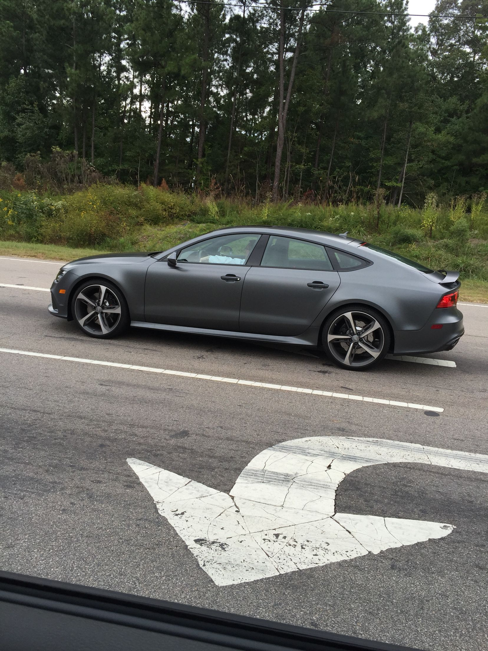 Audi A5 Sportback 2013 Matt Grau Wiring Library Rs7 Matte Grey Stephen Colbert Car Wrap Stuff