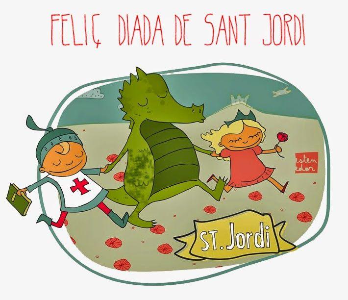 17 Ideas De Felicitacions Frases En Catalan Feliç Sant Jordi Manualidades Sant Jordi