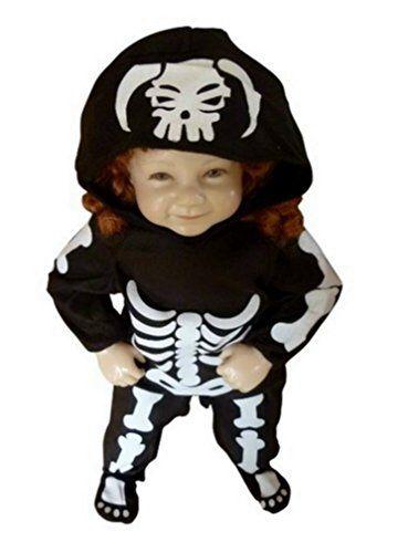Perfect Fantasy World Boys/Girls Skeleton Halloween Costume, Size 9 12 Months, F70  Best Halloween Costumes U0026 Dresses USA