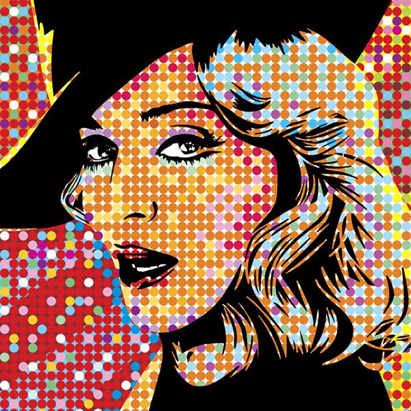 Madonna Lobo Pop Art Are You An Artist Are You Looking For One Find A Business Opportunity As An Artist Join B Uncut The Art Exchange