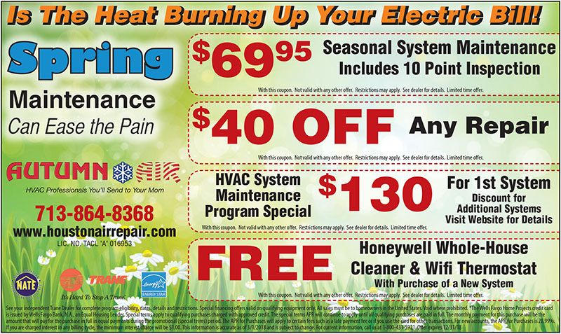 Air Conditioning Discounts In Houston Air Conditioning