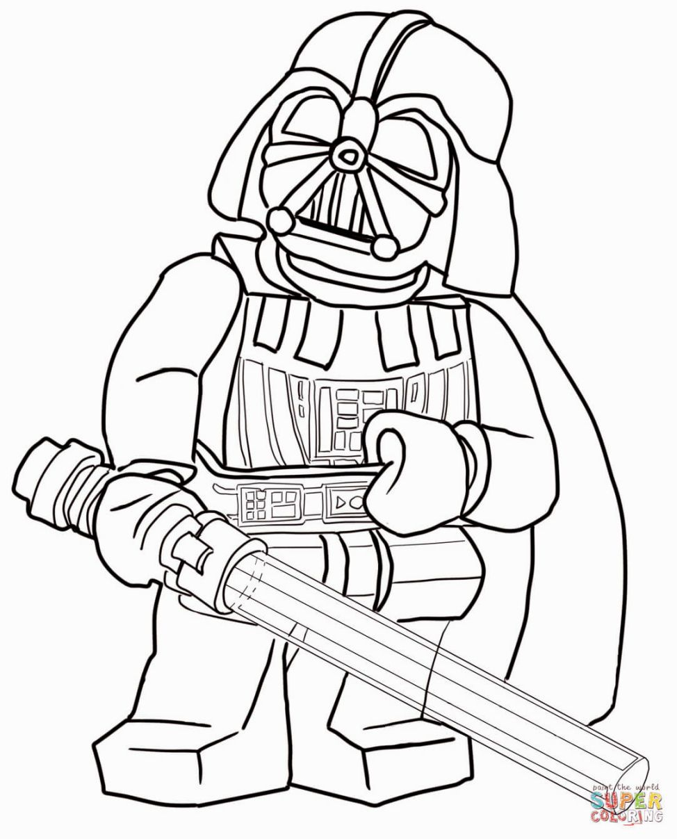 Lego Starwars Coloring Pages Star Wars Coloring Sheet Lego