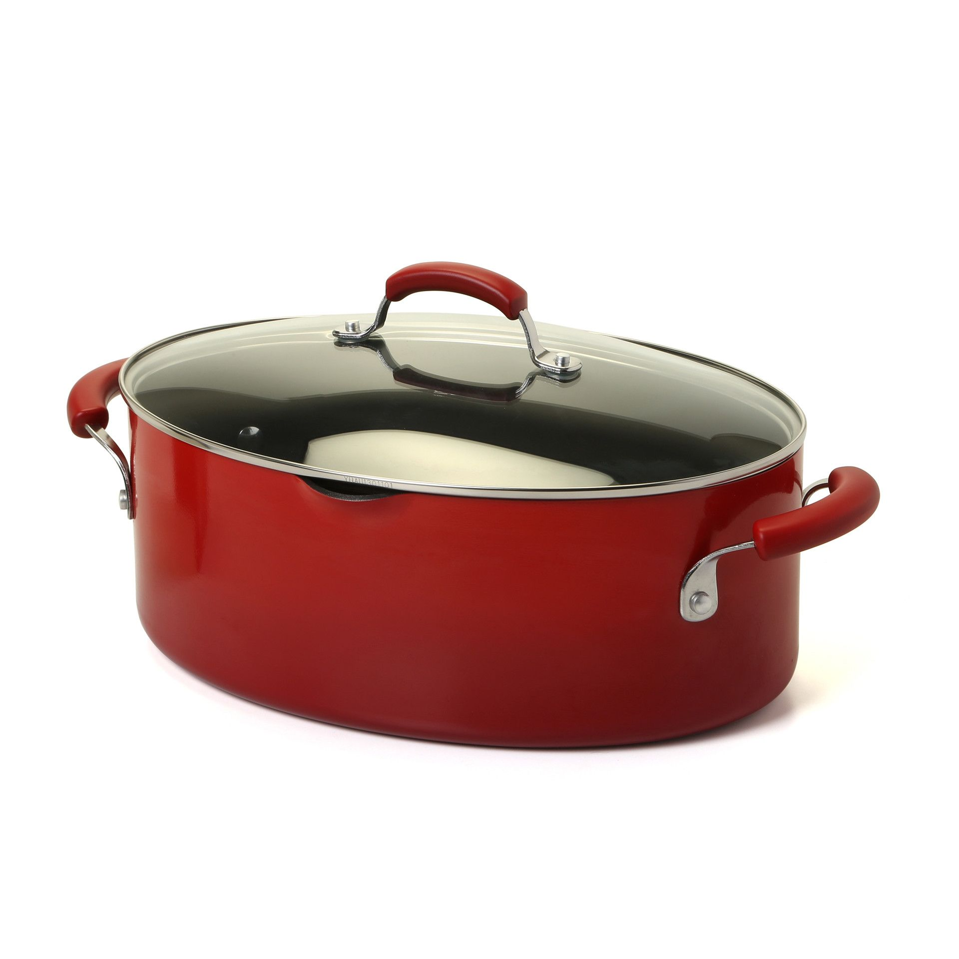 Porcelain Nonstick 8 Qt Stock Pot With Lid